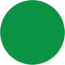 "N200GRE - 1/2"" Green Color Dot"