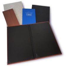 Menu Display- Formal Menu Covers | PLEASE CONTACT US ON 800-654-9946 AND ORDER THIS PRODUCT