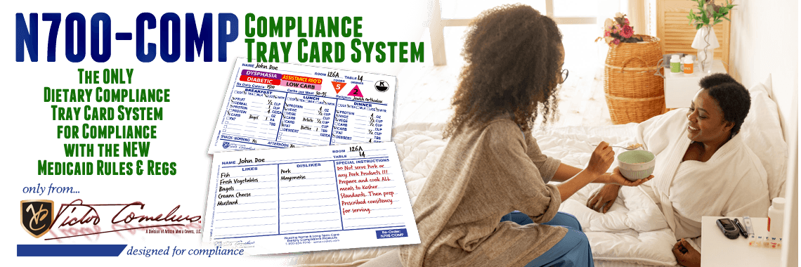N700-COMP COMPLIANCE TRAY CARD SYSTEM